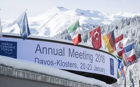 Diễn đàn kinh tế thế giới 2016 tổ chức tại Thụy Sĩ.