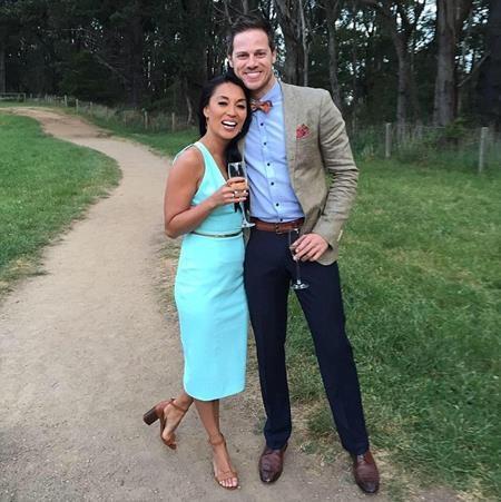 Stephanie Delaney đang cực kì hạnh phúc sau khi cầu hôn bạn trai Stephen Mahy