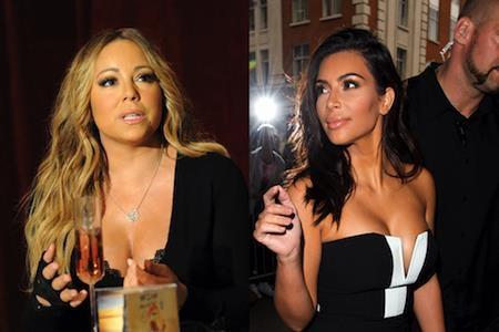Mariah Carey không ưa Kim Kardashian