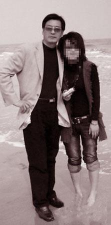 Lý Quang Thăng và tình nhân Lý Vân khi còn mặn nồng.