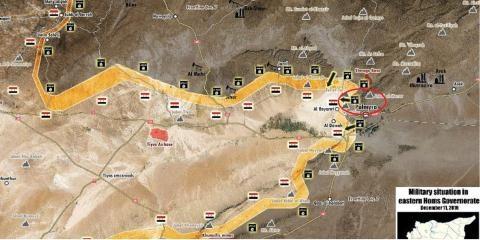 Khủng bố IS tràn từ Mosul về chiến trường Palmyra.