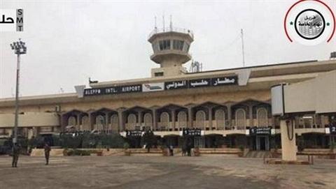 Syria mở cửa trở lại sân bay quốc tế Aleppo