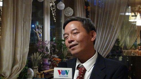 Chủ tịch Hội Người Việt Đôm 14 - Moskva rất hài lòng với cuộc sống của Cộng đồng và bản thân ở đây