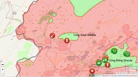 Cuộc chiến ở Wadi Barada.