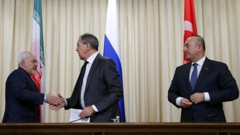Cuộc hòa đàm của 3 Ngoại trưởng Iran, Nga, Thổ Nhĩ Kỳ về tình hình Syria.
