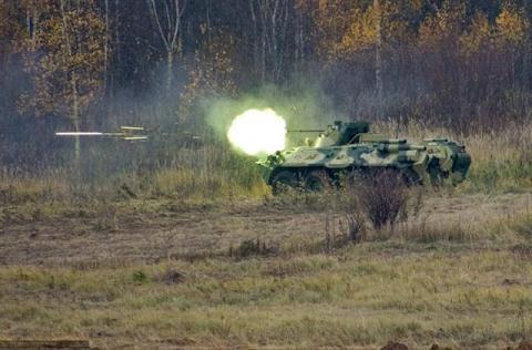 Xe chiến đấu BTR-82A.