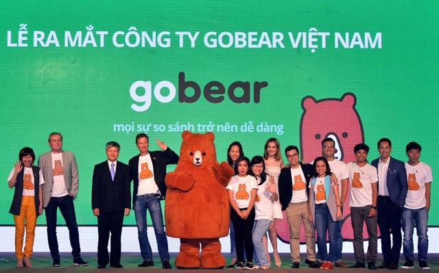GoBear gia nhập thị trường Việt Nam vào tháng 12/2016 (Nguồn: GoBear)
