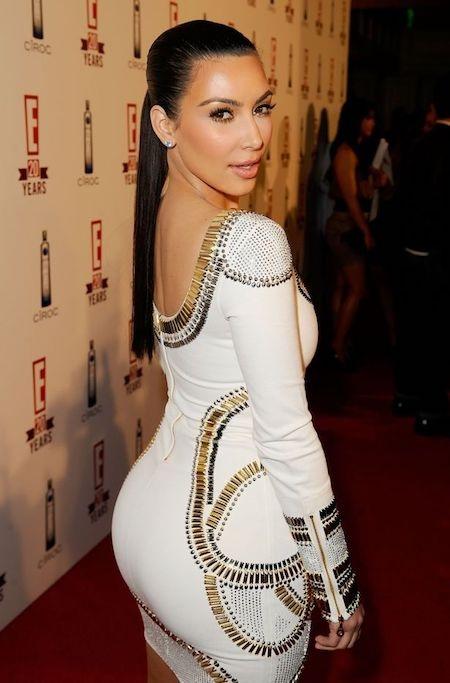 Kim Kardashian bị đồn đã sửa mũi