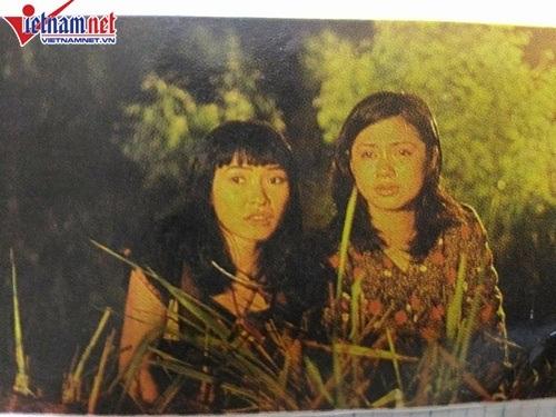 Phương Thanh và Việt Trinh trong phim Tiếng hú nơi hoang dã
