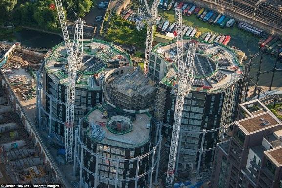 Những bức ảnh tuyệt đẹp chụp London từ trên cao - 12