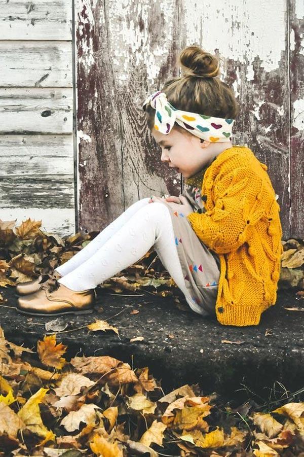 Gợi ý những bộ đồ mùa đông cực chất dành cho bé gái - 8