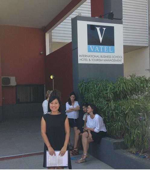 Đại diện Cầu Xanh thăm và làm việc tại trường Vatel Nimes