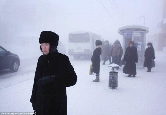 Đến thăm thị trấn có người ở lạnh nhất thế giới - 2