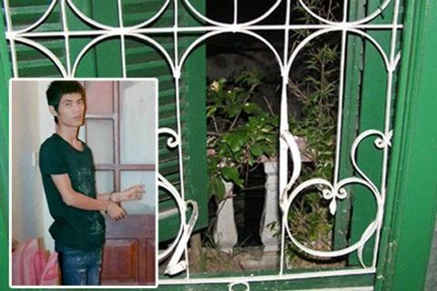 Nguyễn Văn Chính thực nghiệm lại hiện trường vụ trộm đột nhập nhà dân ở đường Nguyễn Trãi