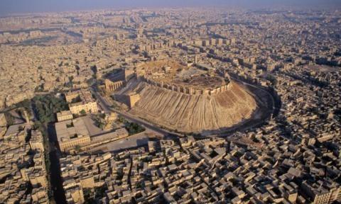 Thành phố cổ Aleppo.