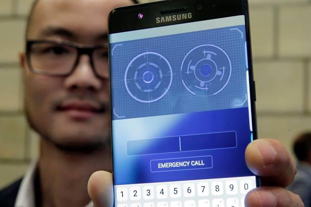 Thuật toán nhận dạng mống mắt của điện thoại Samsung