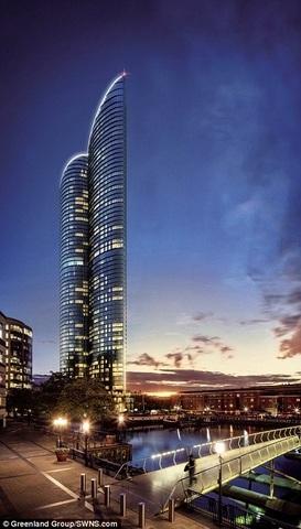 """Tòa tháp cao nhất châu Âu giống hệt """"của quý"""" khổng lồ - 3"""
