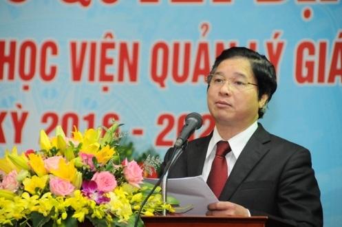 Tân Giám đốc Học viện Quản lý giáo dục Phạm Quang Trung