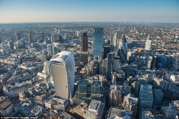 Những bức ảnh tuyệt đẹp chụp London từ trên cao - 2