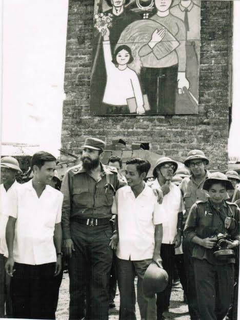 Chủ tịch Fidel Castro tại Quảng Trị năm 1973.
