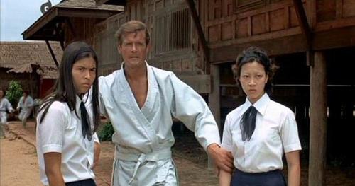 Nguyên Thu là Bond girl đầu tiên của châu Á