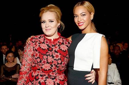 Adele và Beyoncé cạnh tranh nhau ở nhiều hạng mục quan trọng