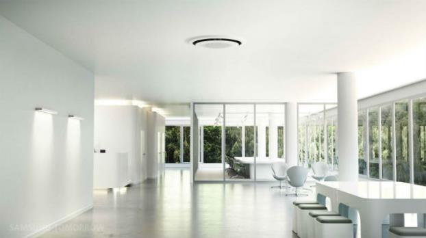 Giải pháp điều hòa không khí toàn diện của Samsung nổi bật nhờ thiết kế tinh tế, trang nhã