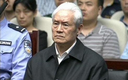 Cựu Bộ trưởng Công an Trung Quốc Chu Vĩnh Khang. (Ảnh: Reuters)