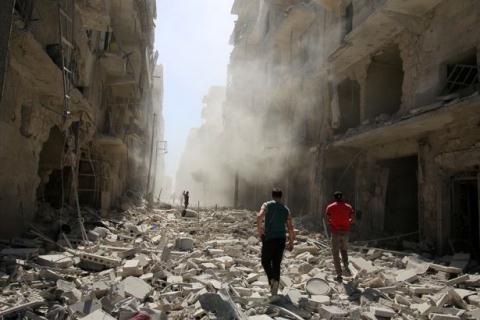 Cảnh tượng tiêu điều tại Aleppo