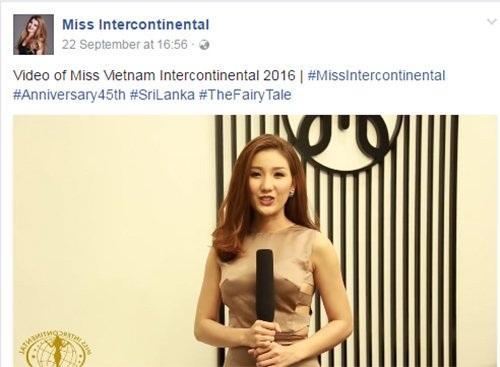 Bảo Như được cho là đại diện Việt Nam tại Hoa hậu Liên lục địa