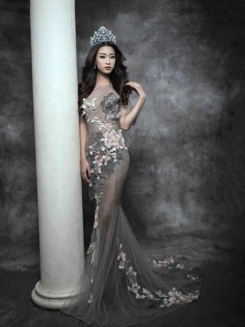 Biến hóa nhan sắc không ngờ của Hoa hậu Mỹ Linh - 4