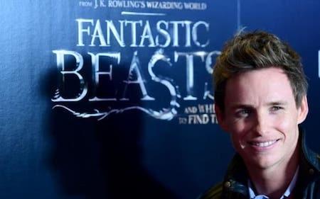 """Eddie Redmayne đảm nhận vai chính trong loạt phim """"Fantastic beasts"""""""
