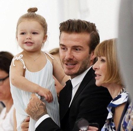 Cô công chúa út của nhà Becks được rất nhiều người yêu mến