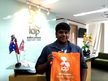 Nitin Madhusoodhanan – Sinh viên Florida International University