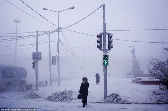 Đến thăm thị trấn có người ở lạnh nhất thế giới - 3