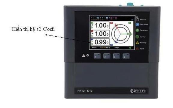 Bộ Điều khiển tụ bù PR12-D12 Ảnh: http://rtrenergia.es/