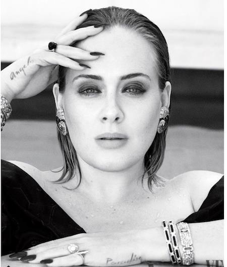 Adele vừa tham gia phỏng vấn cùng tờ Vanity Fair