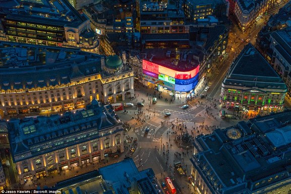 Những bức ảnh tuyệt đẹp chụp London từ trên cao - 3