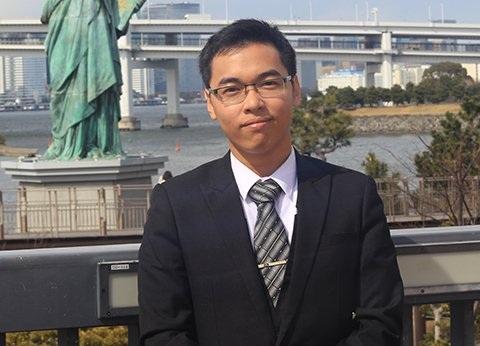 Khi thực tập ở Google Lê Yên Thanh đã được trả 5.000USD/tháng