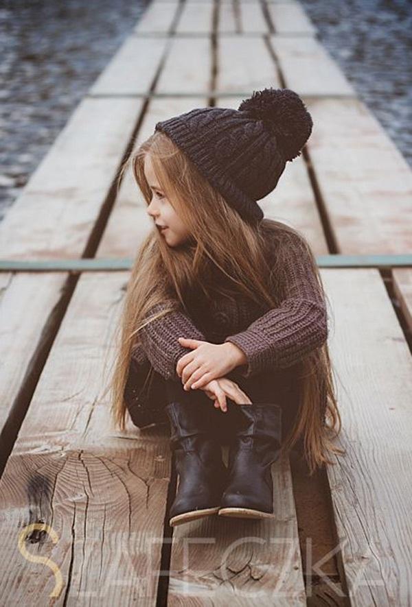 Gợi ý những bộ đồ mùa đông cực chất dành cho bé gái - 4