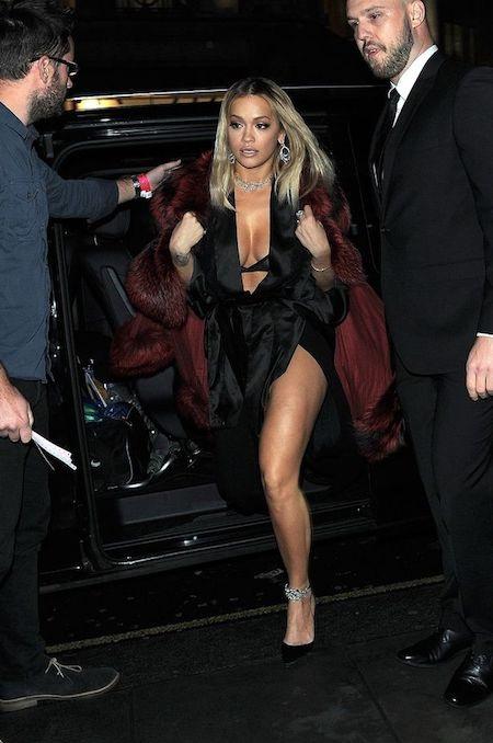 Vẫn chưa xác định được số thiệt hại chính xác mà Rita Ora phải gánh chịu