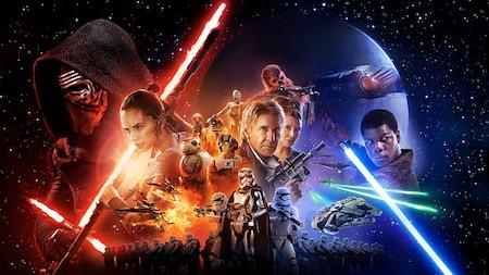 """Loạt phim """"Star war"""" luôn duy trì được sức hút khó cưỡng tại các phòng vé"""