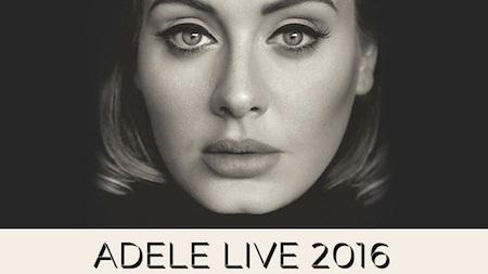 """Adele đã khởi động tour diễn """"Adele live 2016"""""""