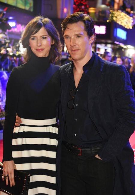 Benedict Cumberbatch và bà xã đã nhận được nhiều lời chúc phúc