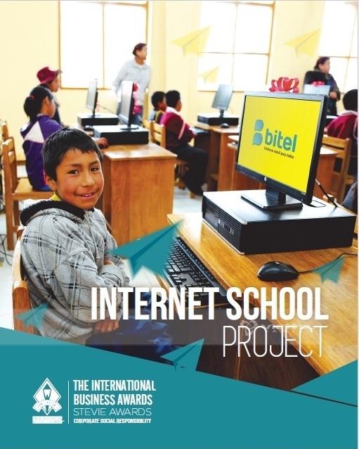 """Bitel giành Giải Bạc ở hạng mục """"Chương trình xã hội của năm tại khu vực châu Mỹ""""."""