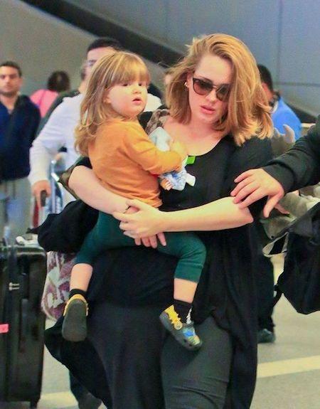 Cuộc sống của Adele đã thay đổi nhiều từ khi có con
