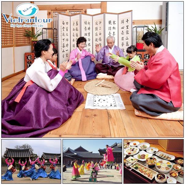 Cùng Vietrantour khám phá những nét văn hóa độc đáo xứ kim chi