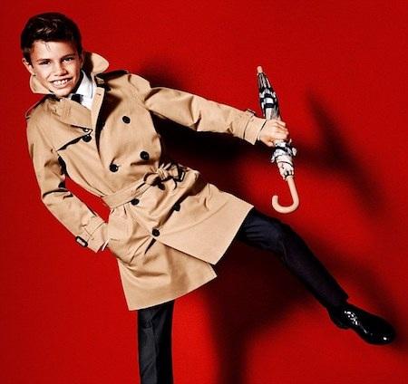 Romeo Beckham hiện là một người mẫu trẻ đắt giá