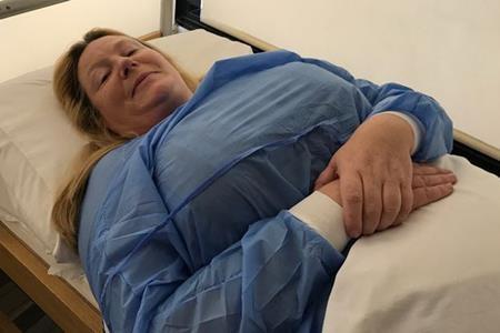 Carole tự hào rằng mình có tử cung tốt nhất thế giới