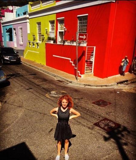 Yvonne trên đường phố Nam Phi